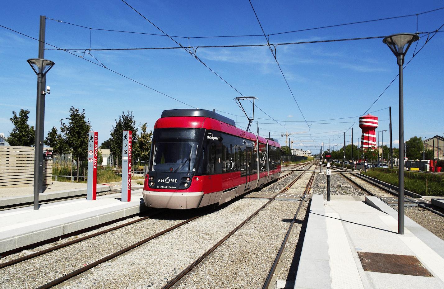 Tramway Lyon Aéroport