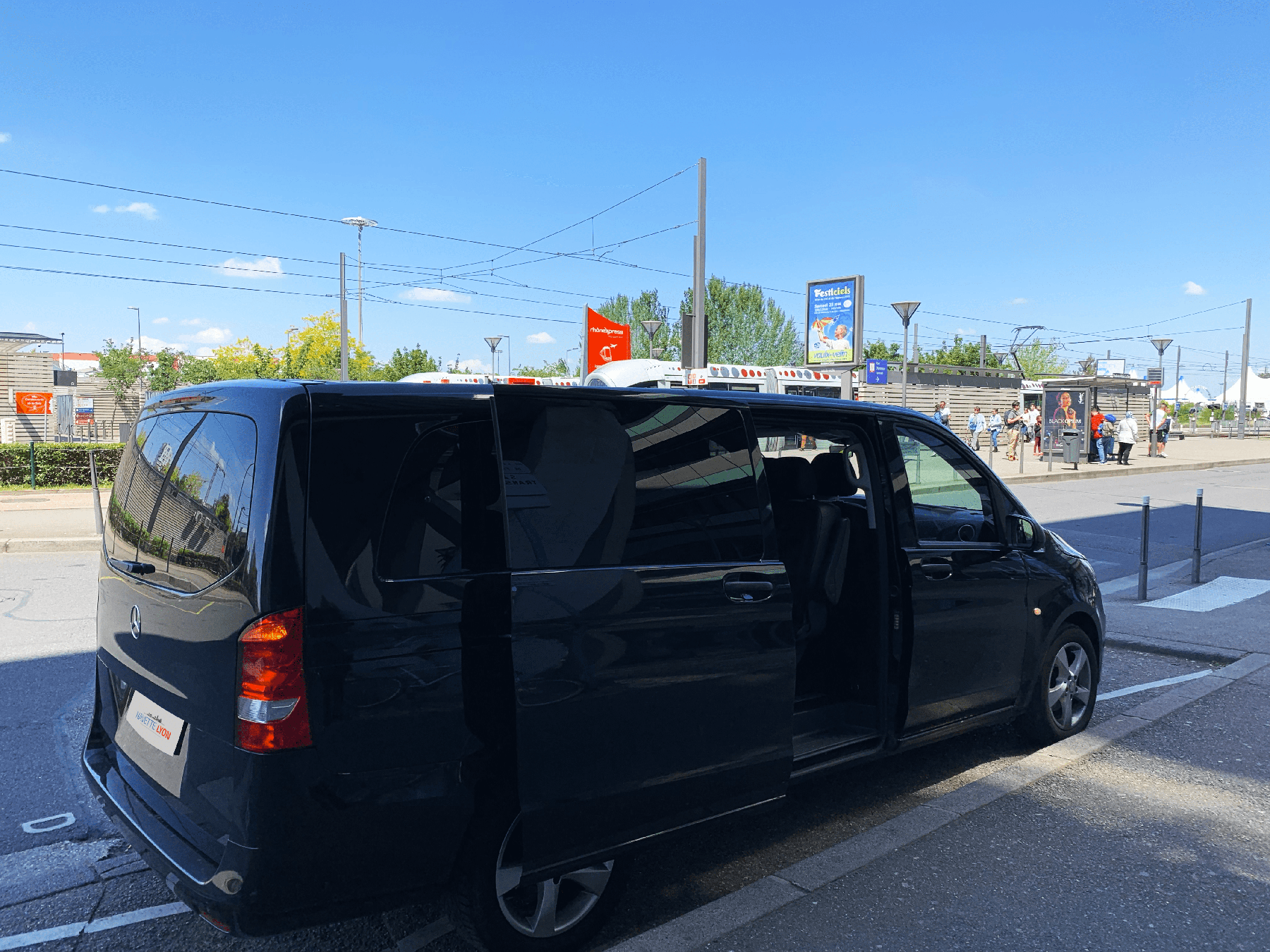 Minivan Navette Lyon La Soie