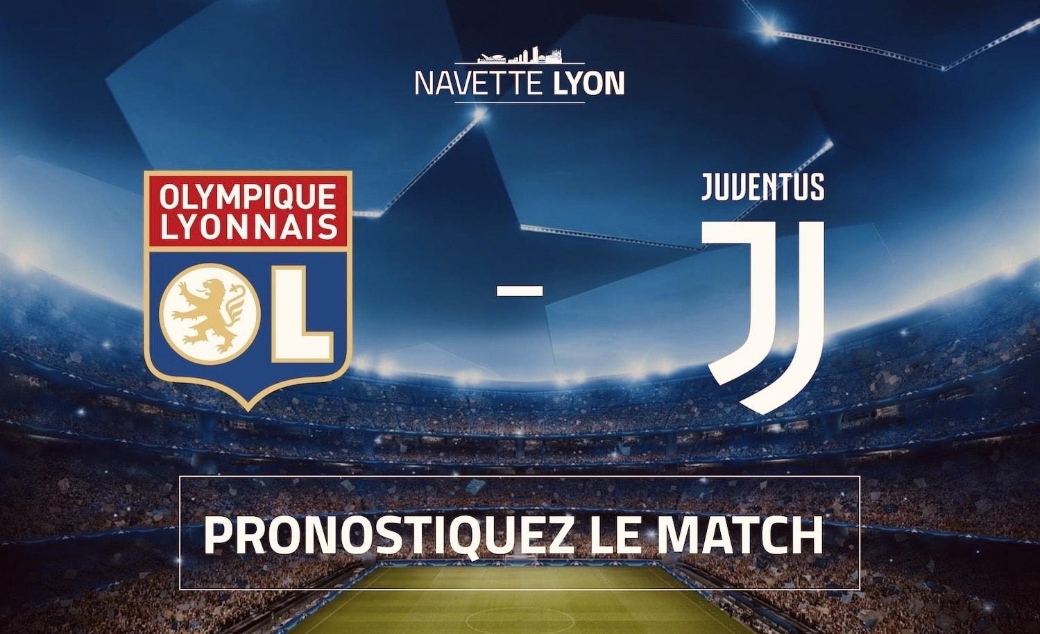 Jeu concours OL - Juventus